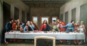 picture of Davinci's The Lat Supper